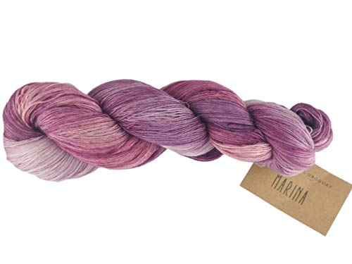 Manos Del Uruguay Marina N6958 Grappe Stain, 100g, Lace Merino Wolle...