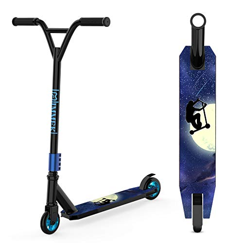 IMMEK Stunt Scooter Teenager Trick Roller Robuster Funscooter 360°...