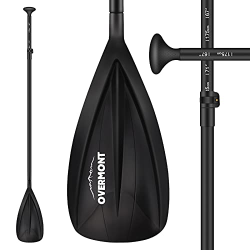 OVERMONT Stand-Up Paddling Stechpaddel SUP Teleskop Paddel 165cm-215cm...