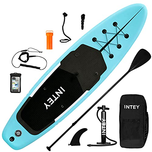 inty Aufblasbares Stand Up Paddle Board ISUP Surf Board 6 Zoll Dick...
