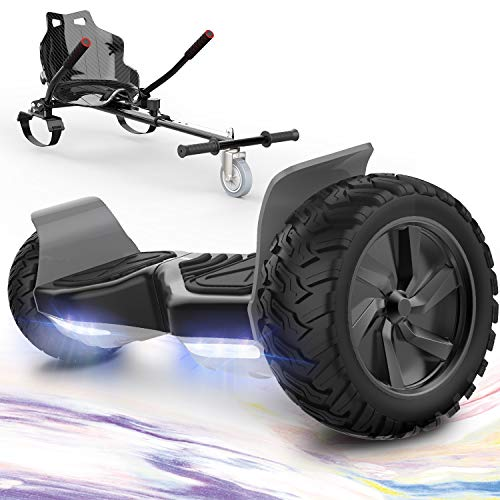 GeekMe Hoverboards mit Hoverkart,Off Road Hoverboards 8,5 Zoll mit...