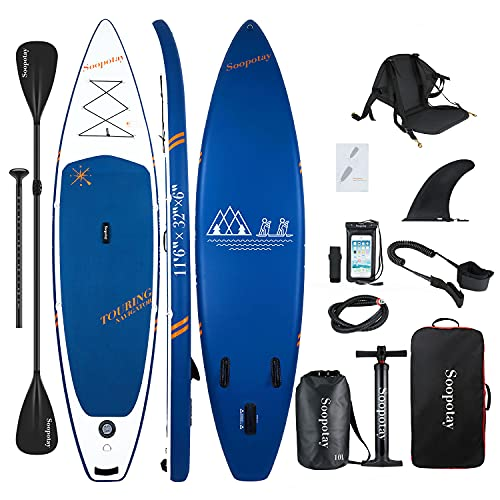 Aufblasbares SUP Stand Up Paddle Board, 11'6'' Touring SUP Board,...