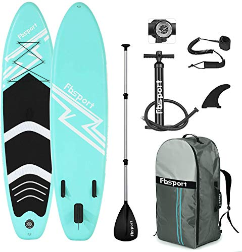 FBSPORT SUP Board, Stand Up Paddle Board, Aufblasbar Stand-Up Paddling...