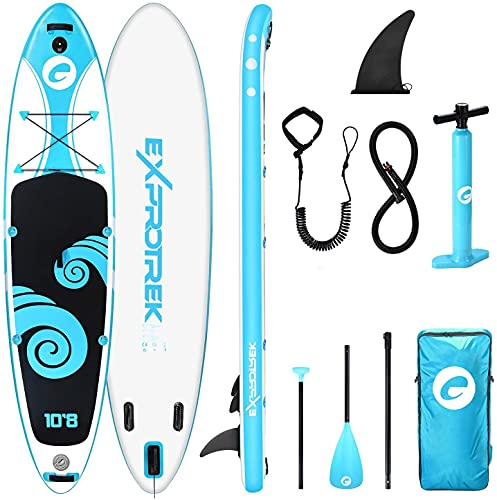 Exprotrek Stand Up Paddling Board, aufblasbares SUP Board, Stand Up...